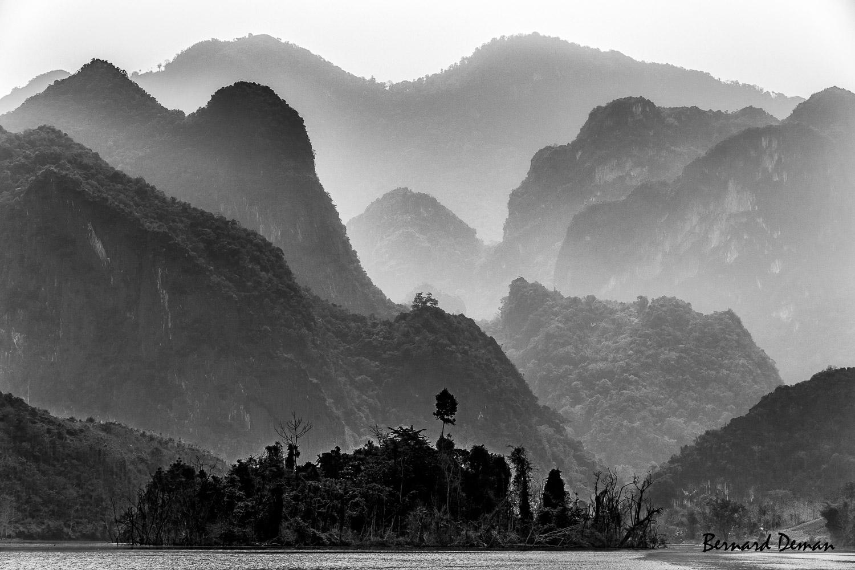 Nord Laos-Rivière Nam Ou