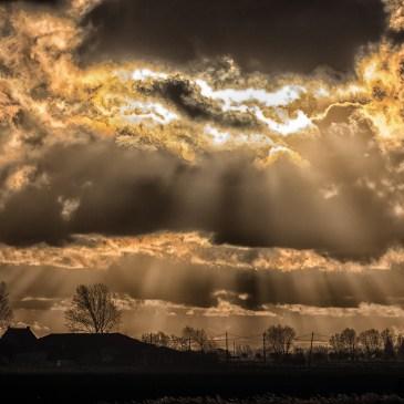 Photos de saison : Nuages et brouillard…. sous le soleil d'automne