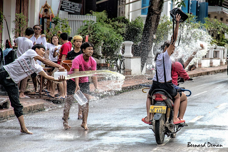 Laos-Luang Prabang-Fête de Pi Mai
