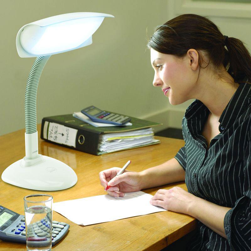 lampe de luminotherapie bureau lumie