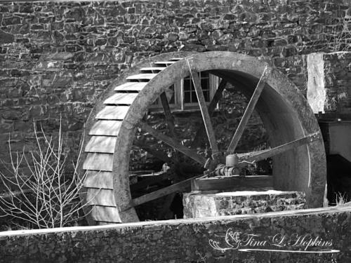 Clinton Mill Wheel