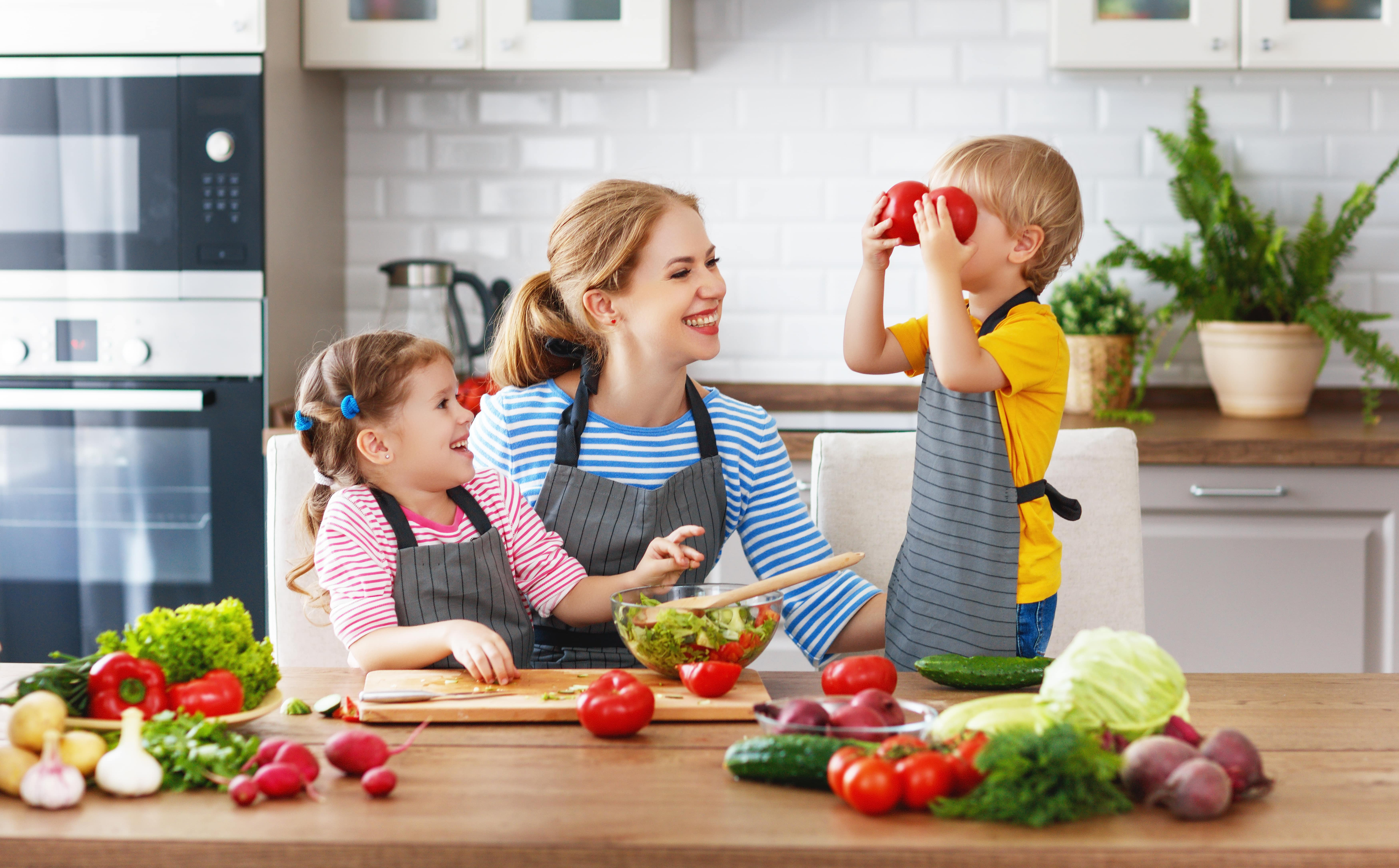 Building Healthy Eating Habits In Kids
