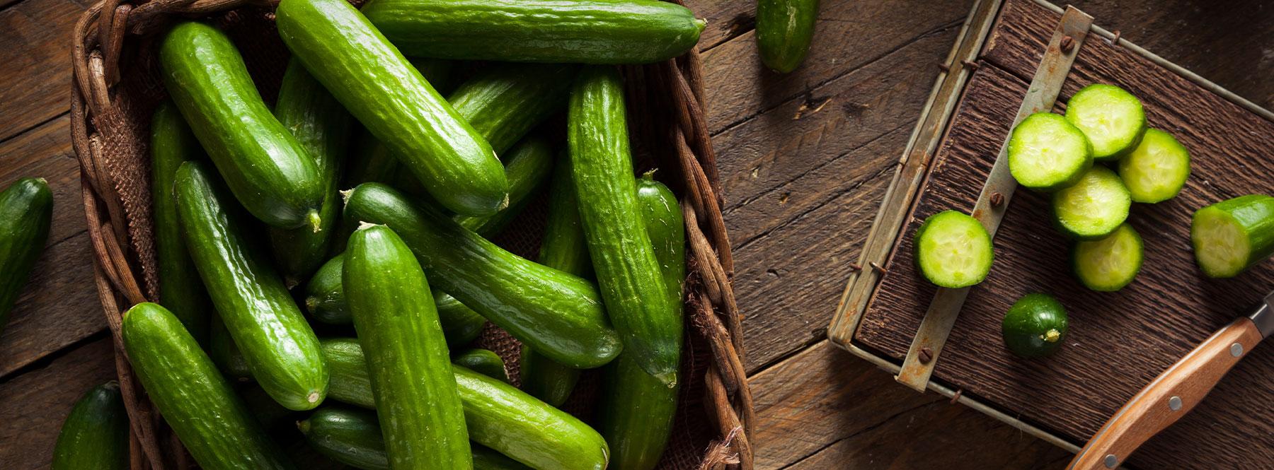 Mini Cucumbers Naturefresh Farms