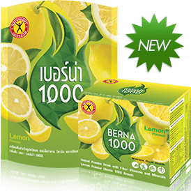 NatureGift Berna 1000 Lemon natural weight loss slimming drinks