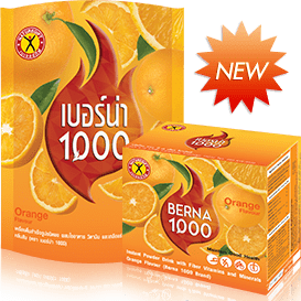 NatureGift Berna 1000 Orange natural weight loss slimming drinks