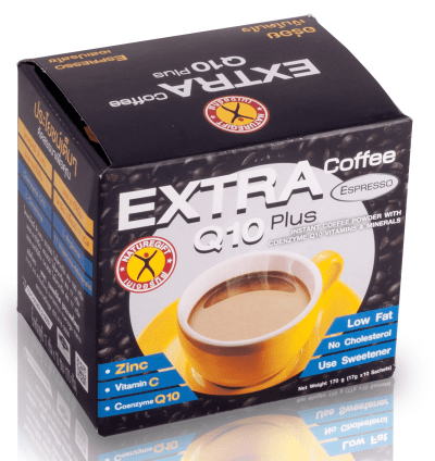 NatureGift Extra Coffee Q10 Plus