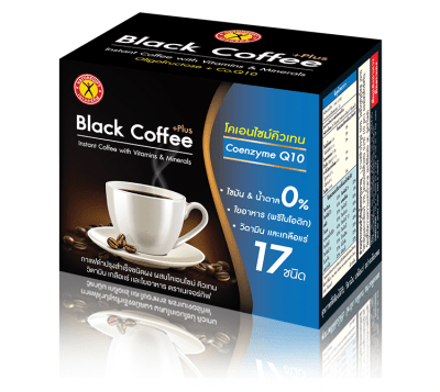 NatureGift Black Coffee CoenzymeQ10