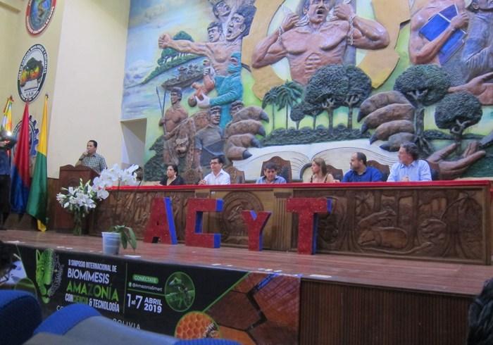 Clausura II Simposio Amazonas Bolivia