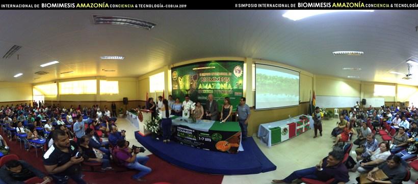 Jornada inaugural II Simposio, Pando