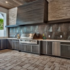 Outdoor Kitchens Kohler Barossa Kitchen Faucet Naturekast Weatherproof Cabinetry Check Out This