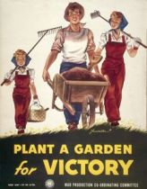 Poster - Plant a Victory Garden