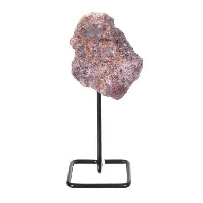 MMS104 - Mini Lepidolite on Metal Stand