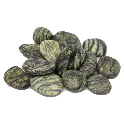 TSER - Serpentine Tumbled Stones