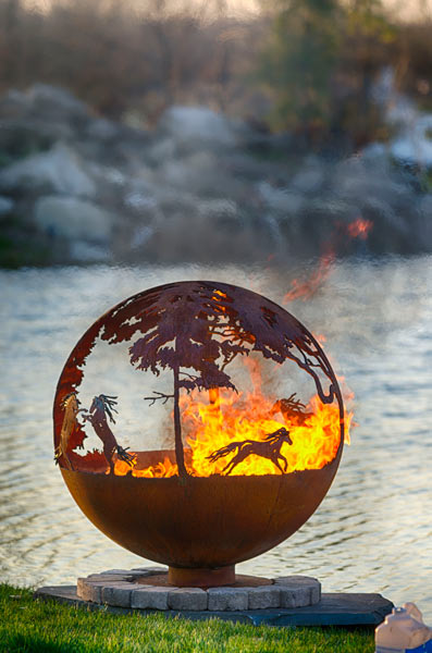 Natures Design  Fire Pit Gallery  WildFire