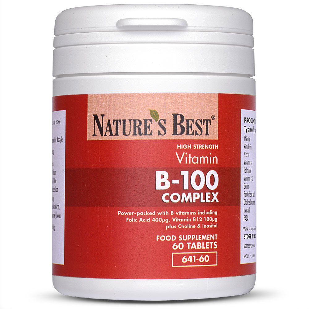Vitamin B 100 Complex Nature S Best