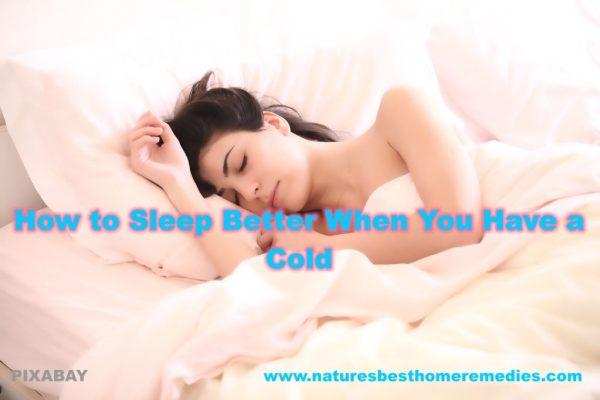 hacks to sleep better cold