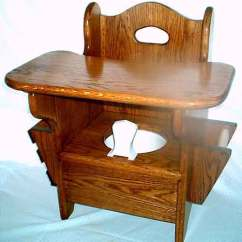 Wooden Potty Chair Beach Thingy Instant Natures Business Kids Stuff Oak W Tray Medium Dark Stain