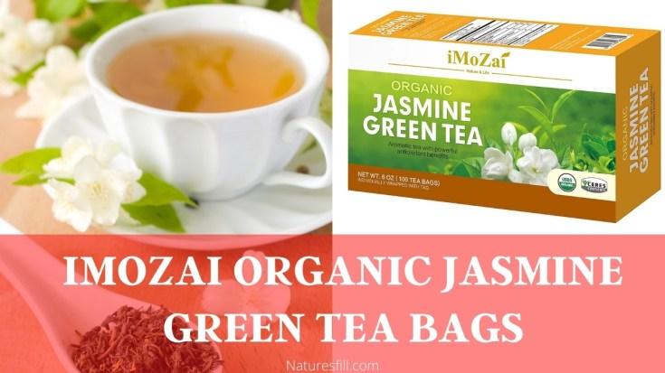 Imozai Organic Jasmine Green Tea Bags