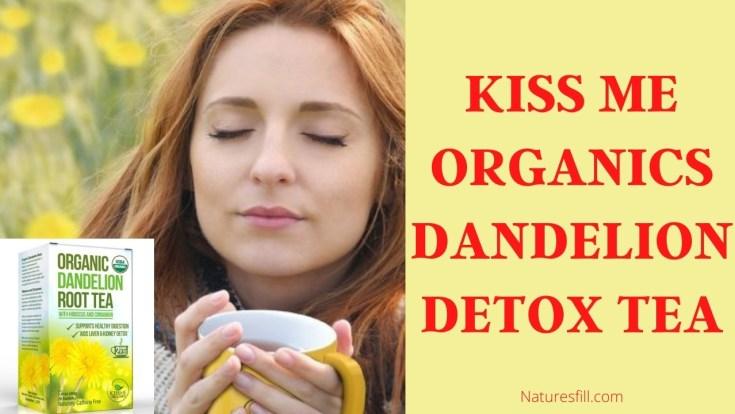 Kiss Me Organics Dandelion Detox Tea