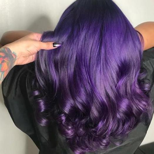 Purple Premium Natural Semi-Permanent Hair Color By Iroiro