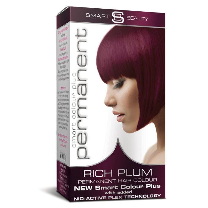 Rich Plum Purple Hair Dye By Smart Beauty
