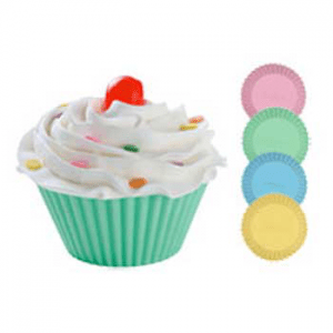 Soap Making Molds Silicone Soap Mold - Round Cupcakes