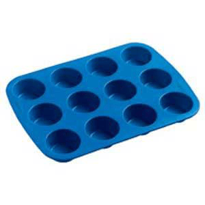 Candle Making Molds Silicone Soap Mold- 12 Mini Muffins