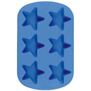 Soap Making Molds 6 Cavity Star - Silicone Soap Mold