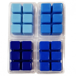 Royal Blue Color Blocks Dye