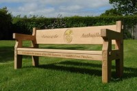 Oak Memorial Benches. Hand made in the United Kingdom