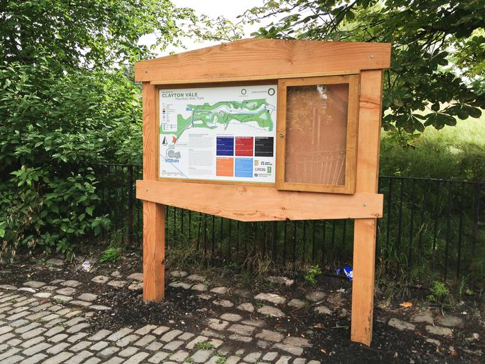 Wooden Notice Boards Nature Sign Design