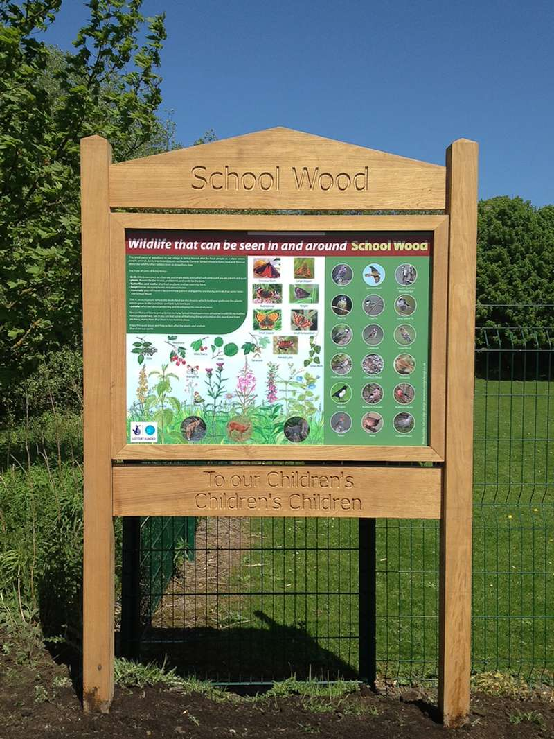 Wooden Signs & Interpretation Panels Nature Sign Design