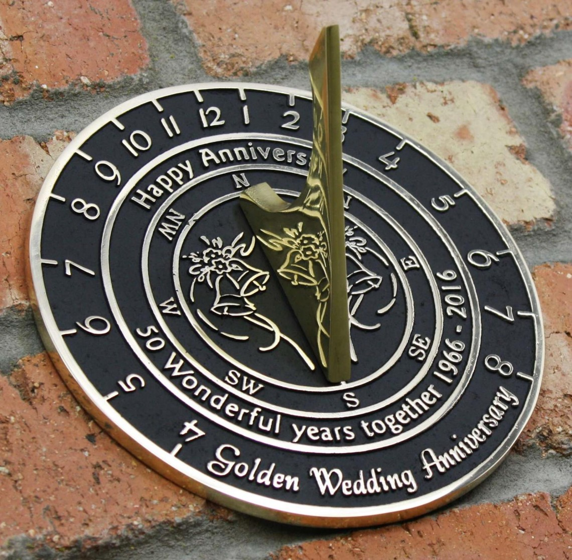 Brass Sundials And Brass Plaques From Nature Sign Design