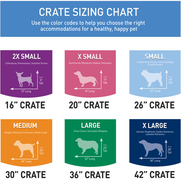 Size chart also port  crate nature   miracle rh naturesmiracle