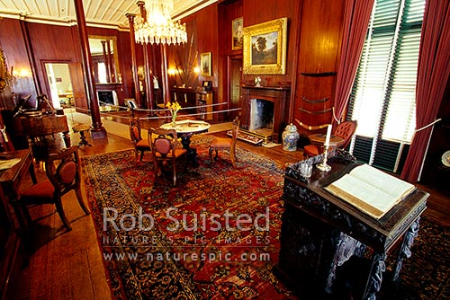 Drawing Room of Sir George Greys historic Mansion House