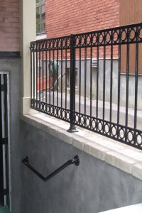 Cast Iron Metal Railings For Stairs, Porches, and Decks ...