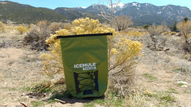 IceMule Cooler in the Mountains.