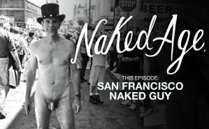 San Francisco Naked Guy on the street