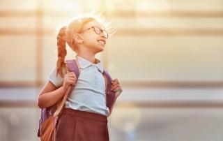 Første skoledag, skolestart, skolebørn, børn, børneopdragelse, Naturligopdragelse.dk, forældrerådgiver, familielivet, familie,