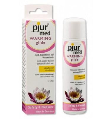 Pjur Med Warming lubricante efecto calor