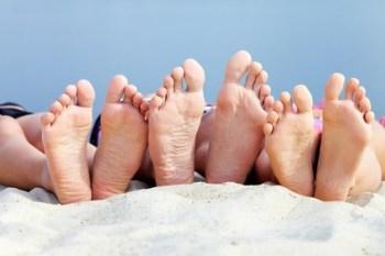 Dedos de los pies