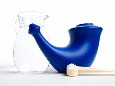 Lavado nasal para despejar las Vías Respiratorias