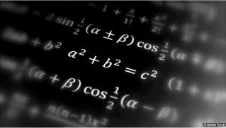 A photograph of some standard algebraic identities.