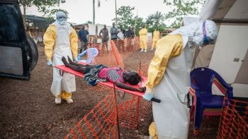 A photograph showing the dreadful human toll of the Ebola outbreak. Source: ABC