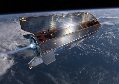 An artist's impression of GOCE. Source: ESA