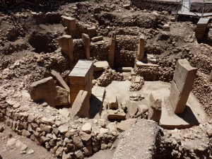 A photograph showing the ancient site of Göbekli Tepe in Turkey, where the first attempt at cement is thought to have originated.