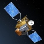 An artist impression of the Sentinel-4 satellite.