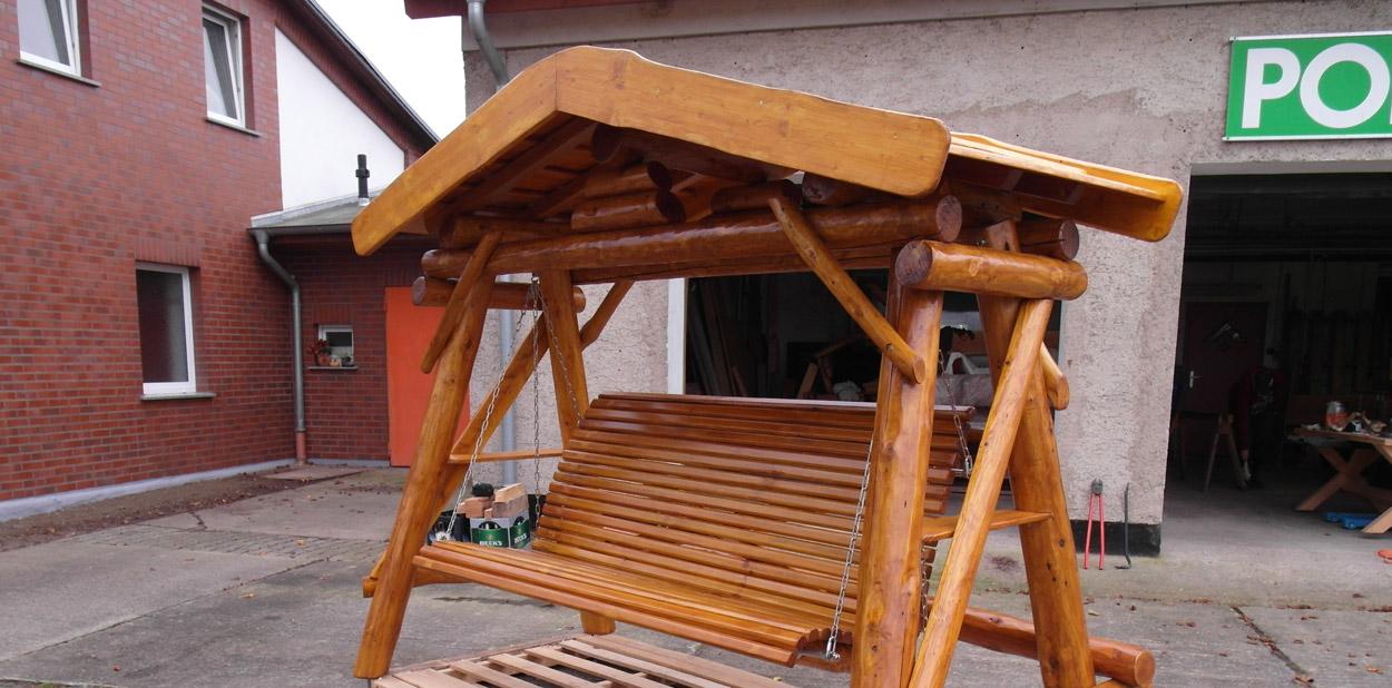 hollywoodschaukel holz dach » terrassenholz,