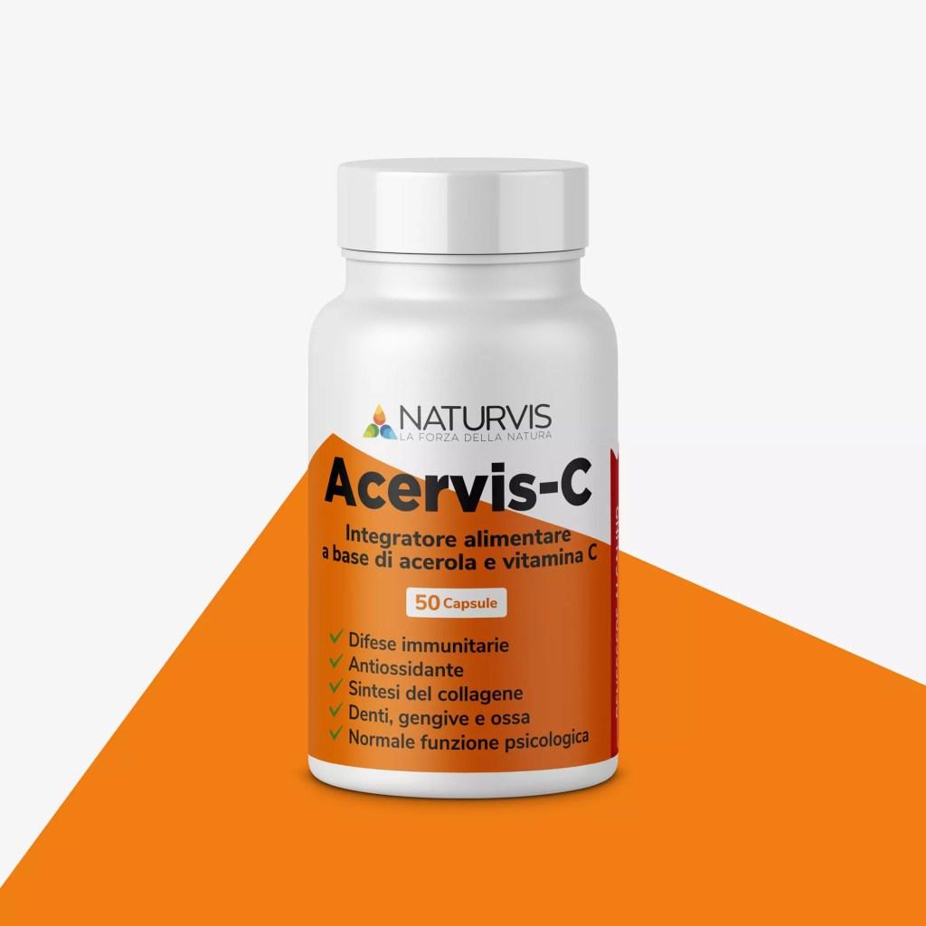 Integratore alimentare a base di vitamina C e acerola