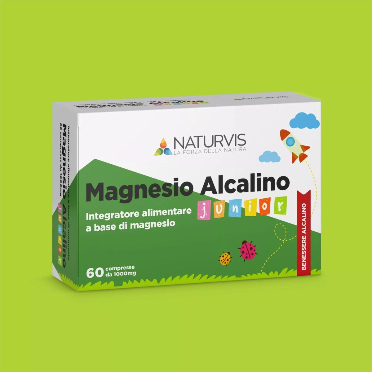 Integratore di magnesio per bambini in compresse
